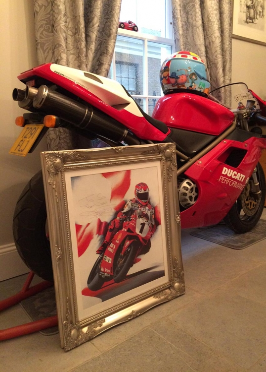 Carl Fogarty limited edition prints